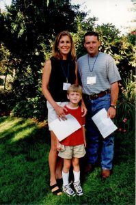 1998 Maryland_Andrea & John Loggins & son, Clayton