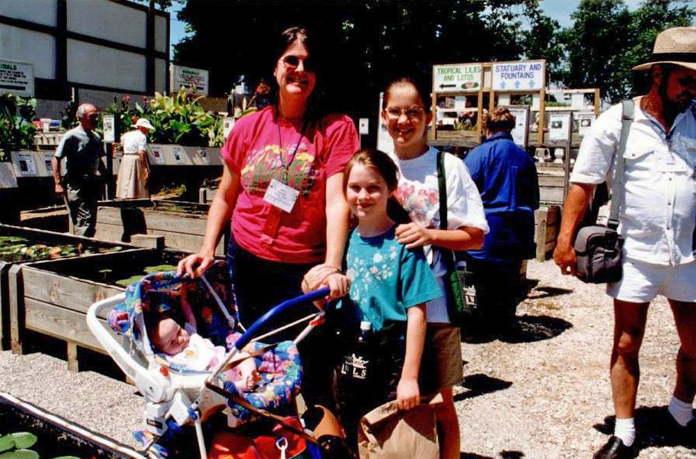 1998 Maryland_Anita Nelson & kids Anne, Mary, Emma