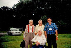 2001 Tennessee_Perry Slocum(L) Paul Stetson (C) Ken Landon (R) Kirk Strawn (Front)
