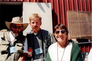 2002 Oregon_John Hill (L) Mike Swize (C) Barbara Hill (R)