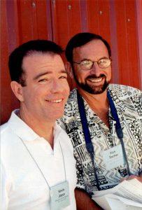 2002 Oregon_Kevin Joyce (L) Rich Sacher (R)
