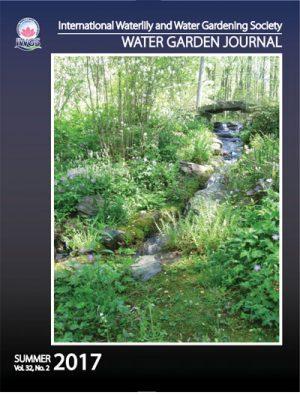 Summer 2017 Water Garden Journal Cover